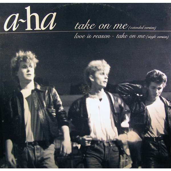 Take On Me Extended Version By A Ha 12inch With