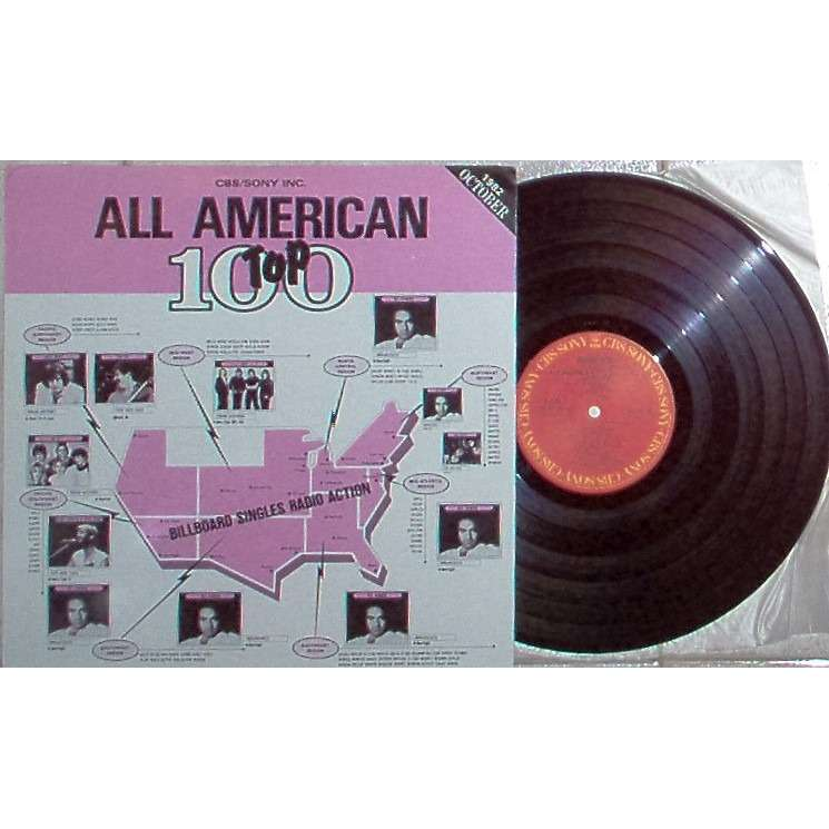 YES / ASIA All American Top 100 Voil.51 1982 October (Japan 1982 promo-only 'DJ Copy' LP sampler full ps)