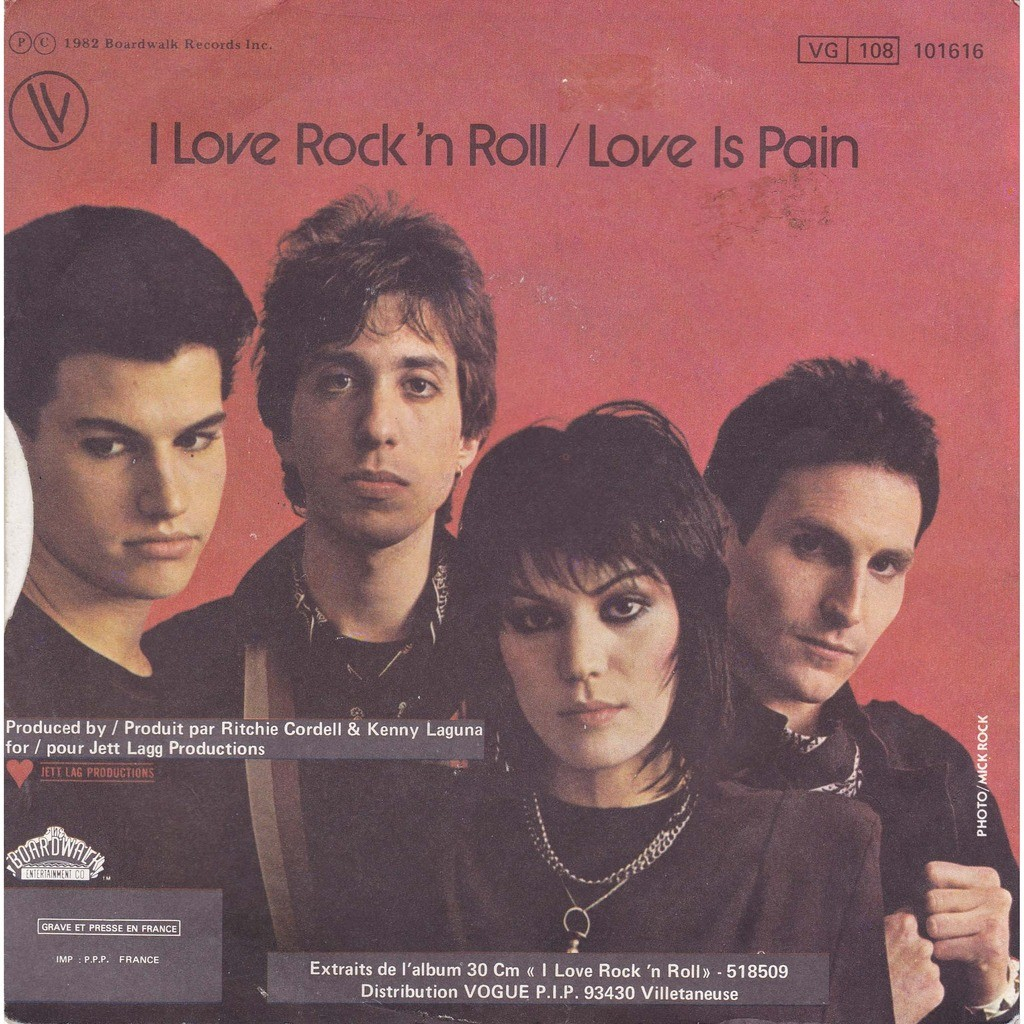 I Love Rock N Roll Love Is Pain De Joan Jett Amp The