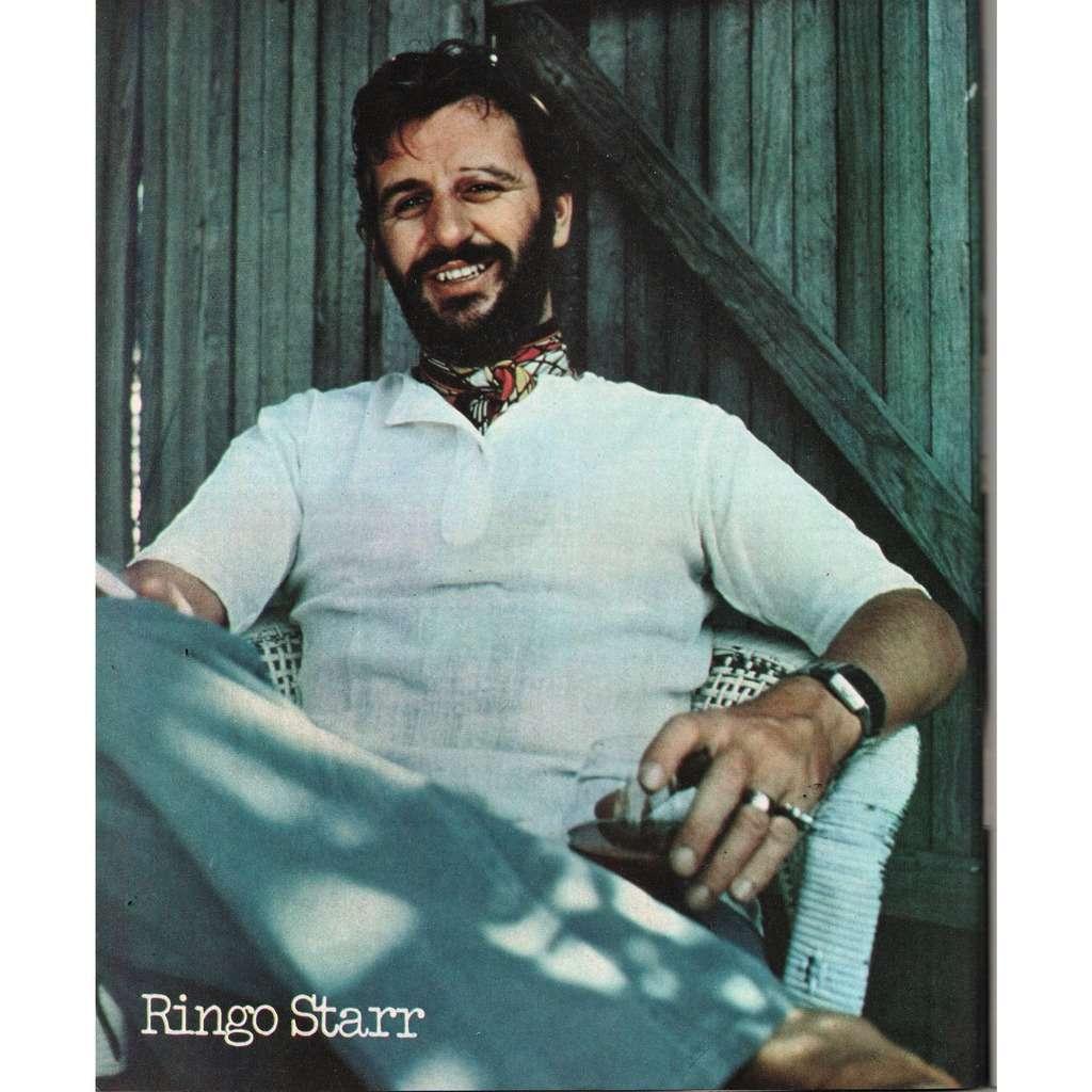 Beatles Ringo Starr Ciao 2001 01061975 Italian 1975 Music Magazine