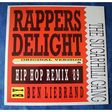 SUGARHILL GANG THE - RAPPERS DELIGHT HIP HOP REMIX 89 - 12 inch 45 rpm