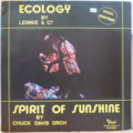 LENNIE & CO / CHUCK DAVIS ORCHESTRA - Ecology / Spirit of sunshine - 12 inch 45 rpm