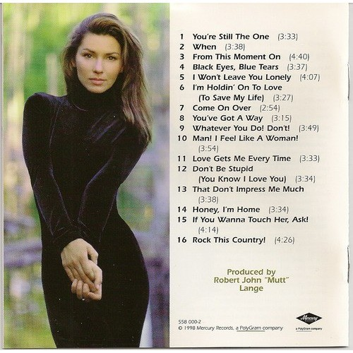 Come On Over By Shania Twain Cd With Kroun2 Ref 114375472