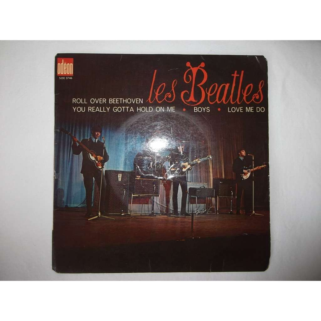 THE BEATLES ROLL OVER BEETHOVEN/YOU REALLY GOTTA HOLD ON ME/BOYS/LOVE ME DO