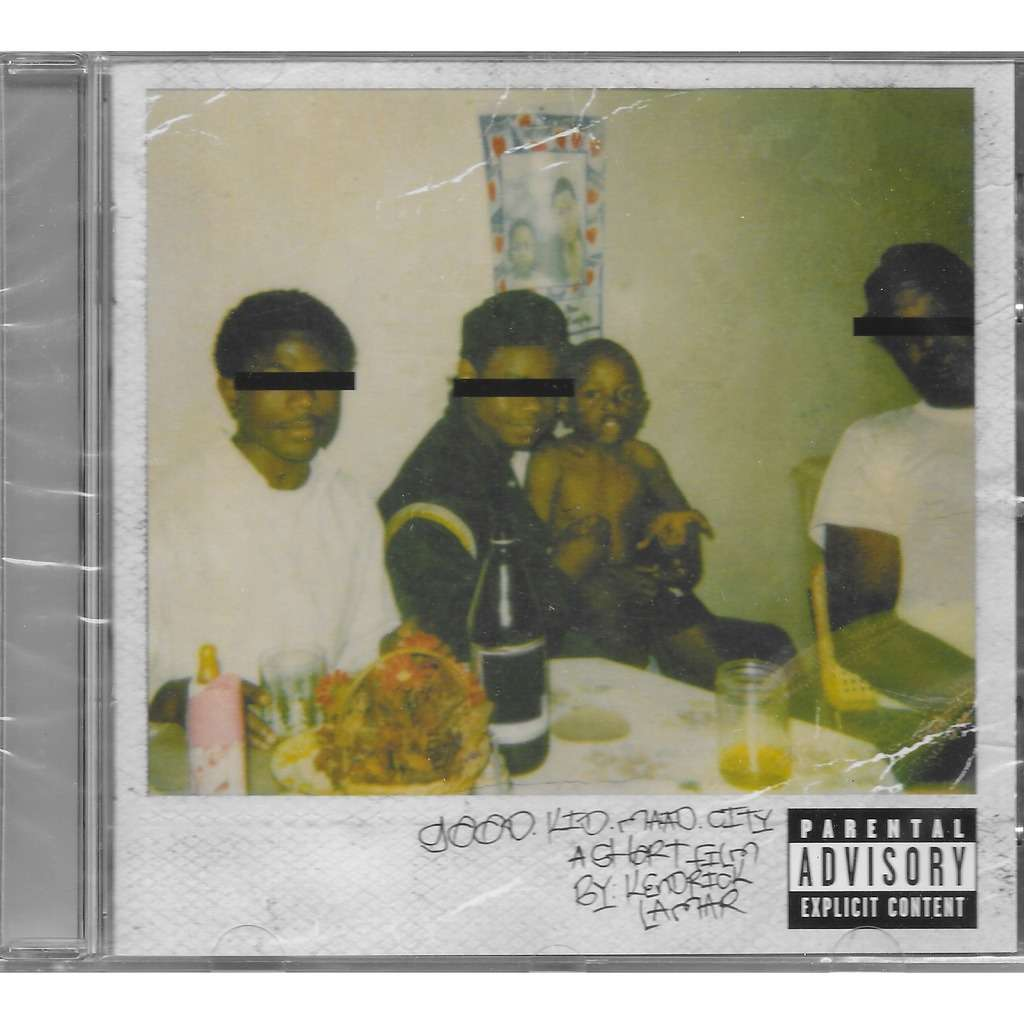 good kid maad city cd by kendrick lamar cd with