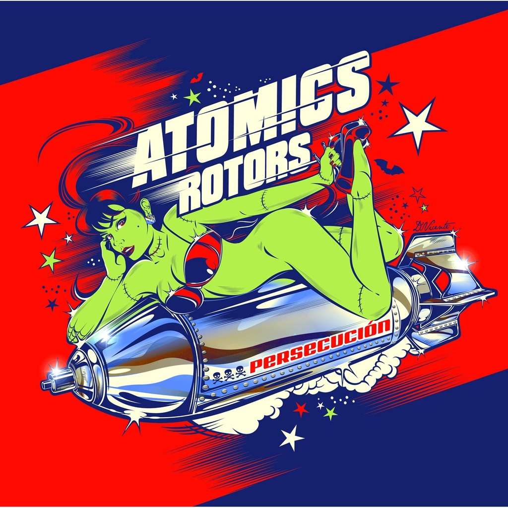 BE FAST : Atomics Rotors Persecución - CD