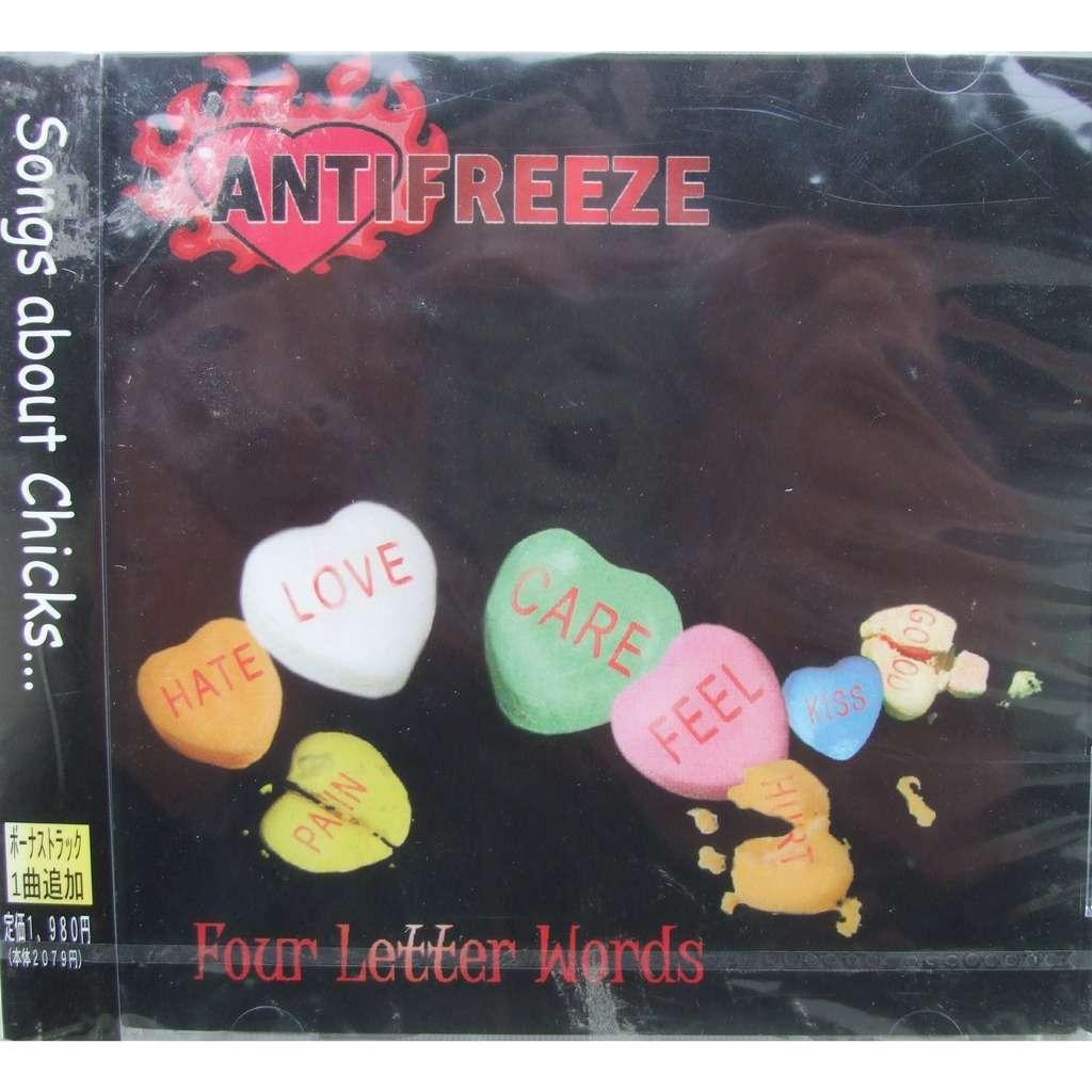 Antifreeze Four Letter Words By Antifreeze Four Letter Words Cd