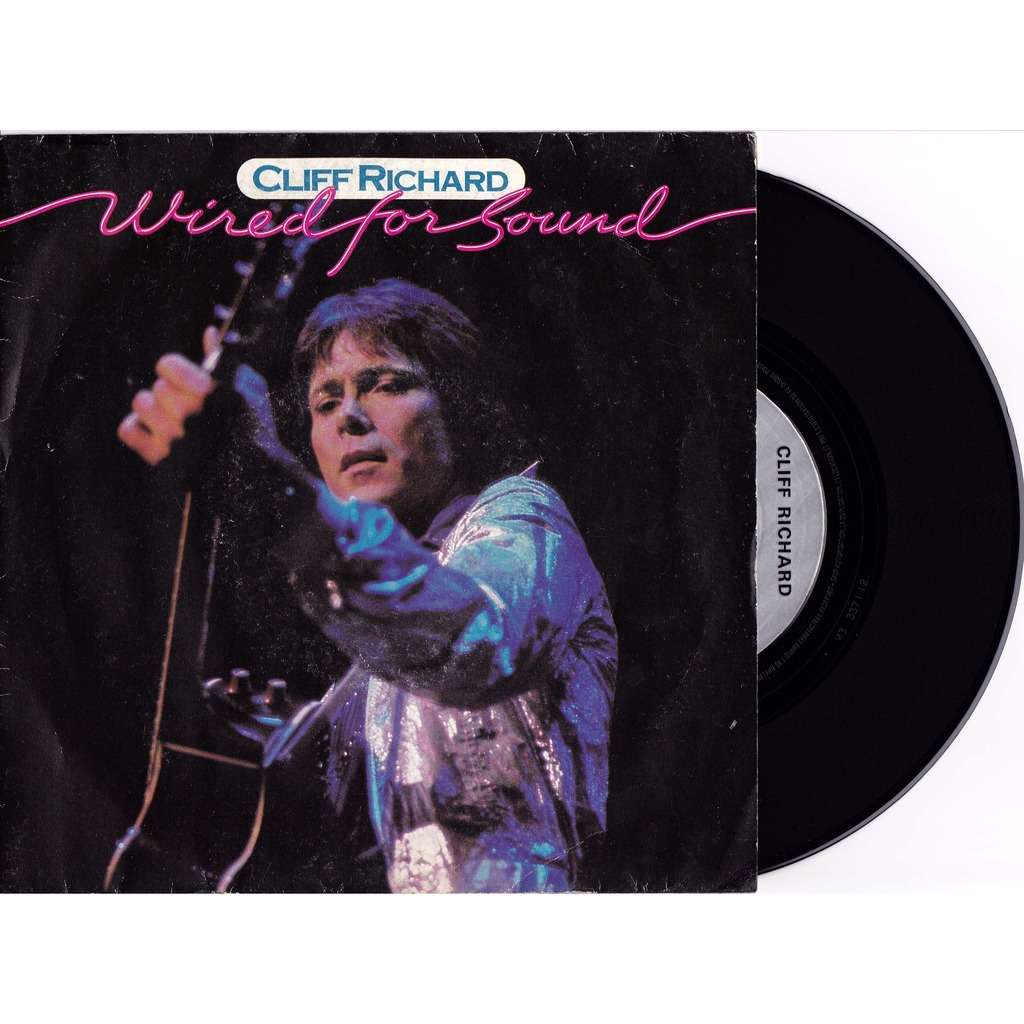 Wired for sound / hold on by Cliff Richard, 7inch x 1 with ...