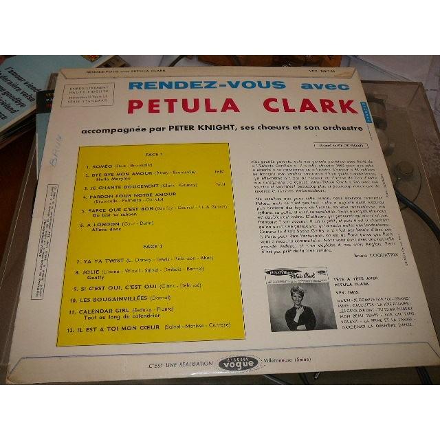 Clark Petula Rendez vous avec