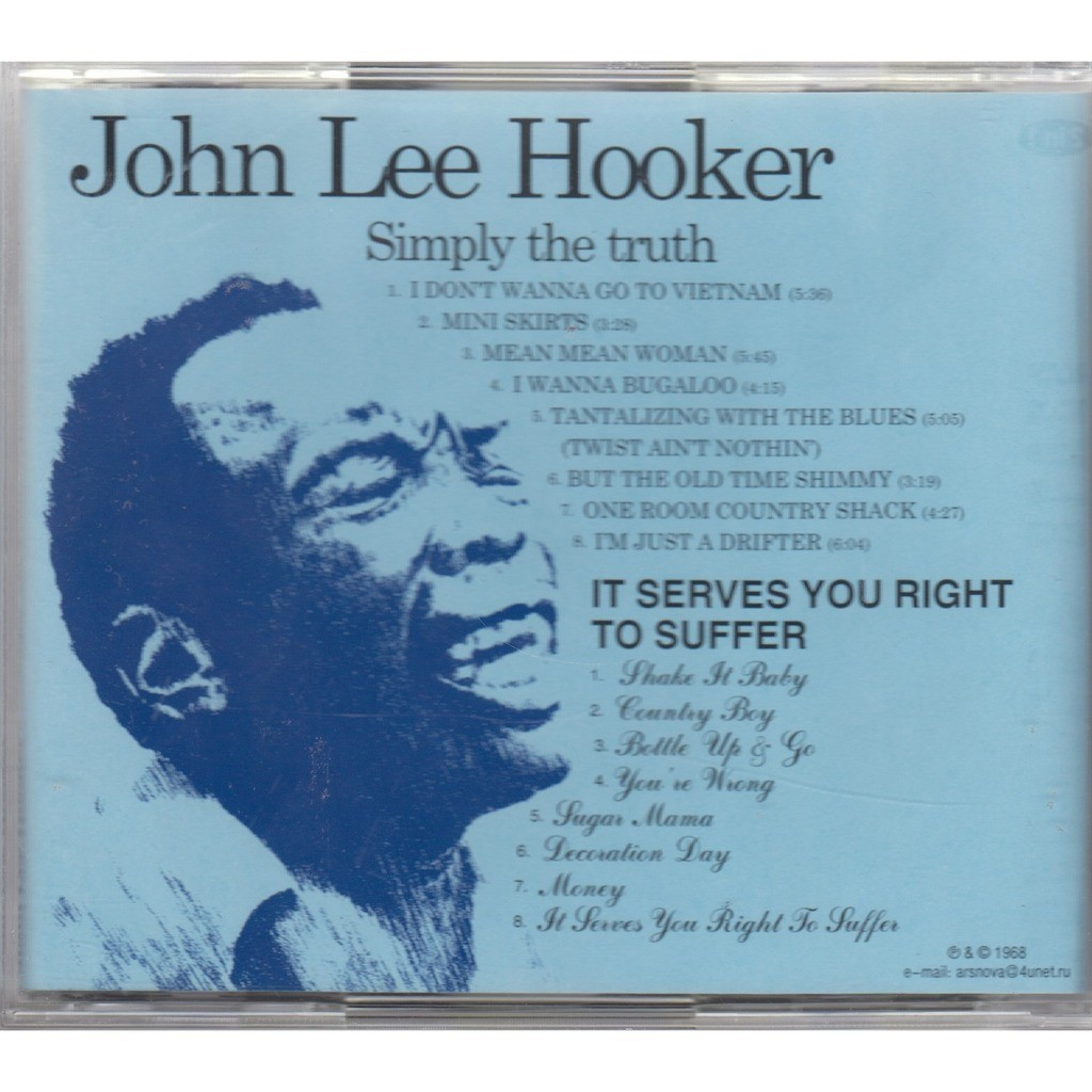 John Lee Hooker Simply The Truth