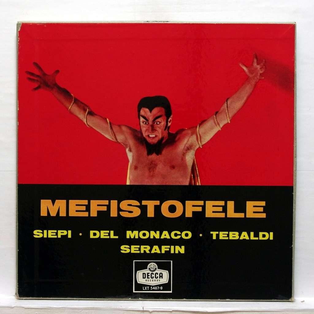 Boito Mefistofele By Cesare Siepi Mario Del Monaco