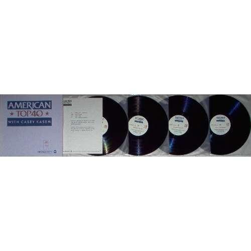 Joe Jackson american top 40 program no.842-11 (usa 1984 promo 'abc' 4lp TRASLUCENT BROWN wax radio show+cues)
