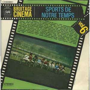 Bruitage cinéma : sports de notre temps (vol.6)
