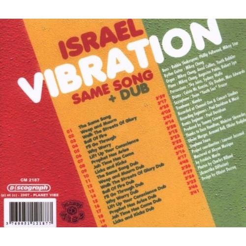 Israel Vibration Same song + Dub