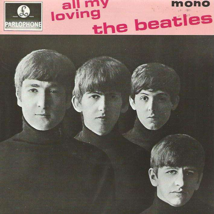 BEATLES all my loving / ask me why / money / ps i love you (uk reissue)
