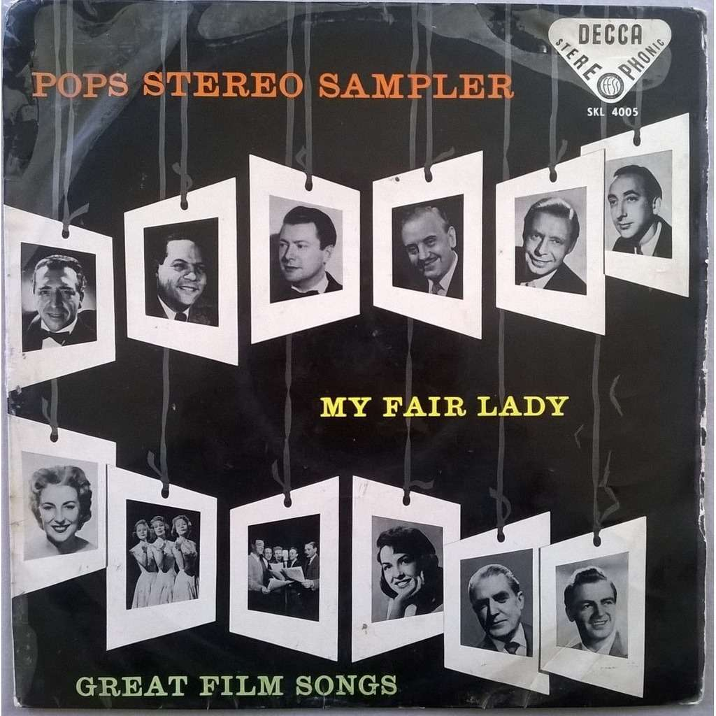 The Beverley Sisters, The Stargazers, Jack Warner Pops Stereo Sampler