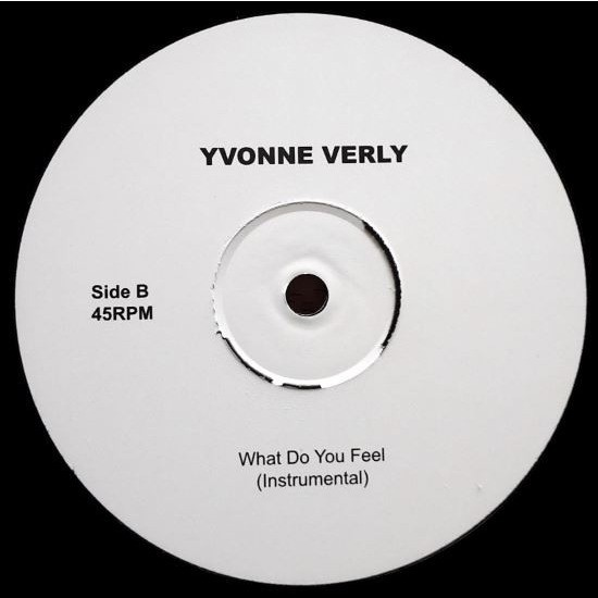 YVONNE VERLY What Do You Feel