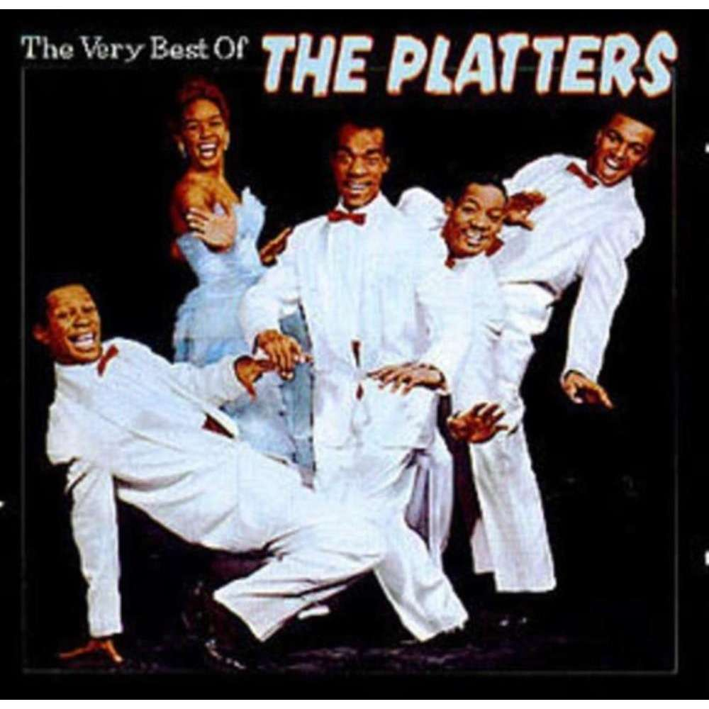 The Very Best Of By The Platters Cd With Bass323 Ref