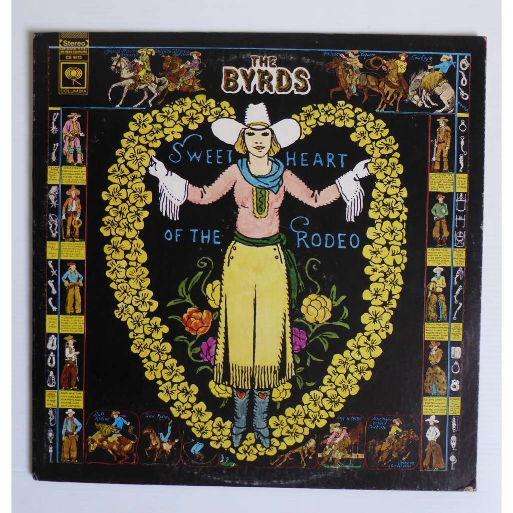 Sweetheart Of The Rodeo By The Byrds Lp With Ouioui14
