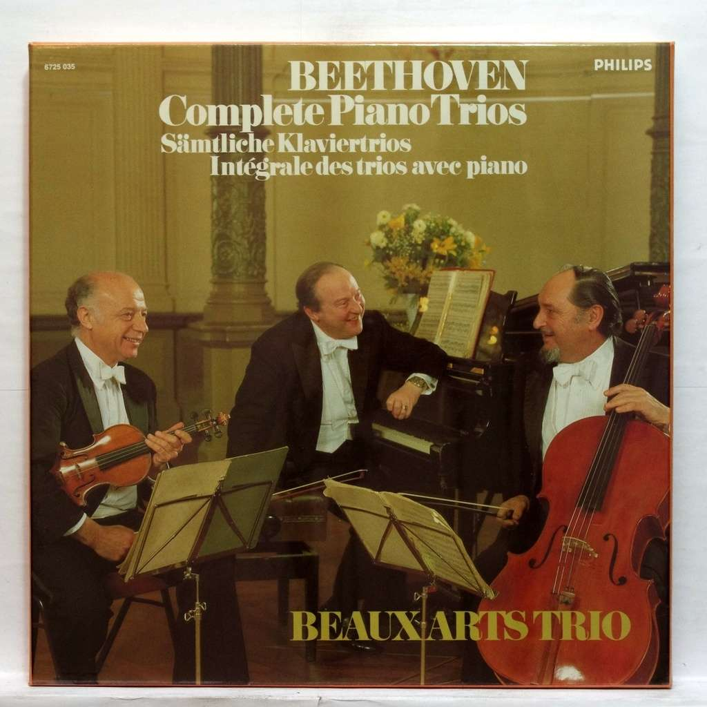 Beethoven Complete Piano Trios By Beaux Arts Trio Lp