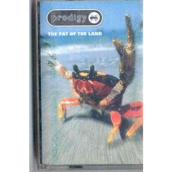 Prodigy The Fat Of The Land (Italian 1997 10-trk Cassette album full ps)