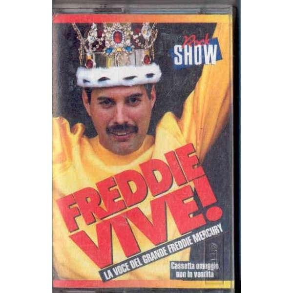 Queen / Freddie Mercury Freddie Vive (Italian 90s Interview promo cassette album unique ps)