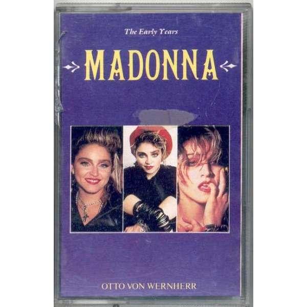 Madonna The Early Years (UK 1989 Ltd 10-trk Cassette album unique ps)