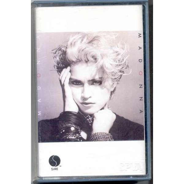 madonna Madonna (Singapore 1983 original 8-trk Cassette album different ps)