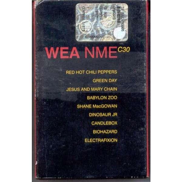 Red Hot Chili Peppers / Dinosaur Jr Wea NME C30 (UK 1994 promo Cassette sampler slipcase ps)