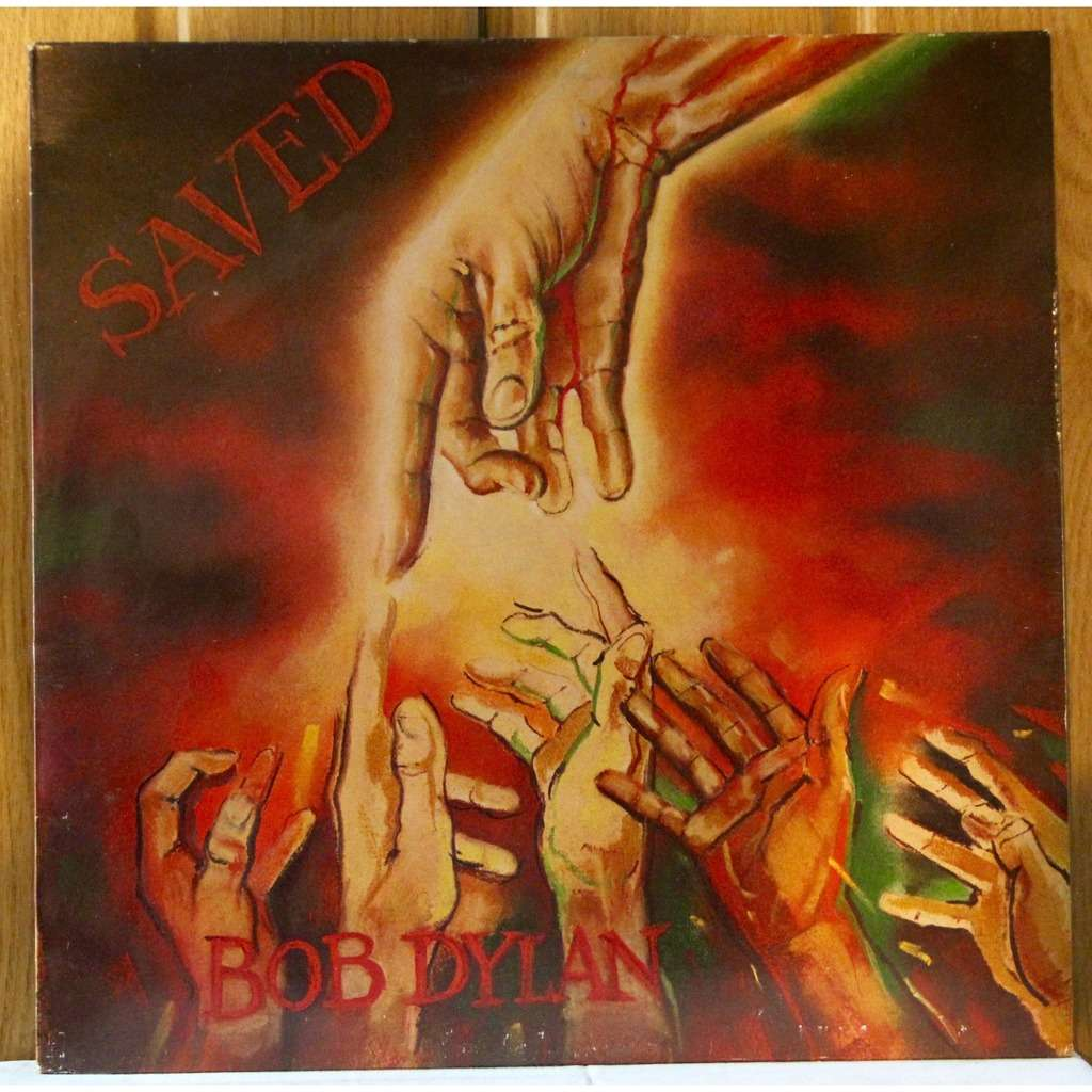 Saved By Bob Dylan Lp With Dom93 Ref 118153573