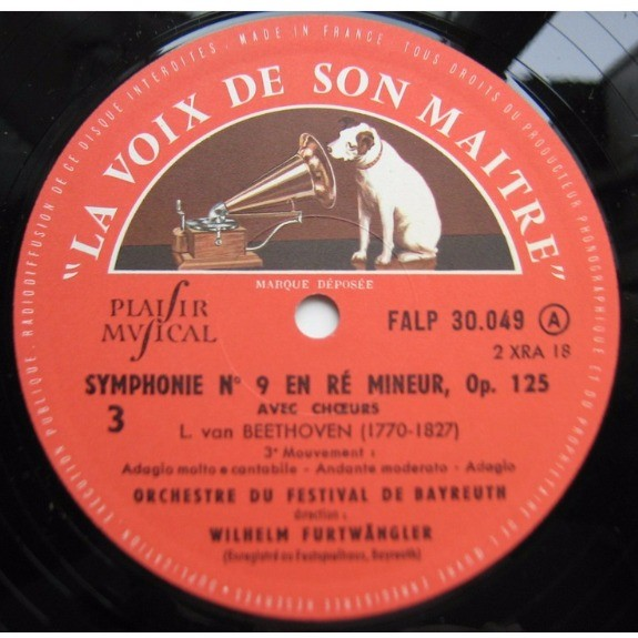 beethoven / wilhelm furtwangler neuvieme symphonie 1&2