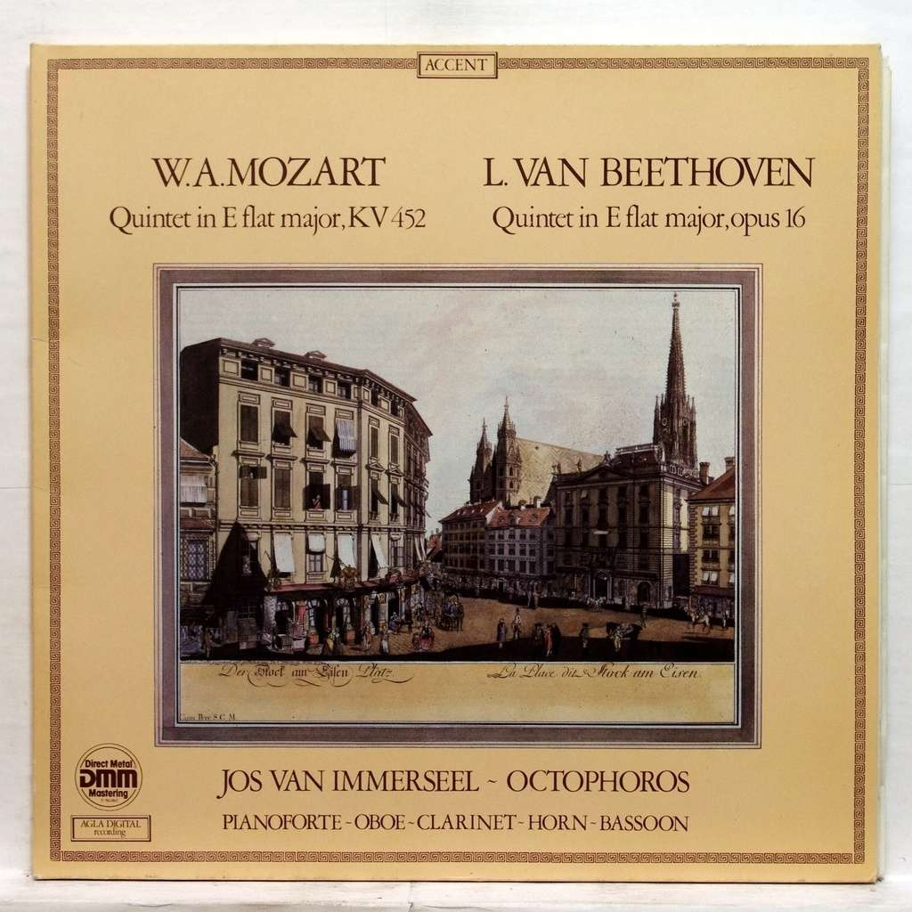 Octophoros - Jos van Immerseel - W.A. Mozart - L. Van Beethoven