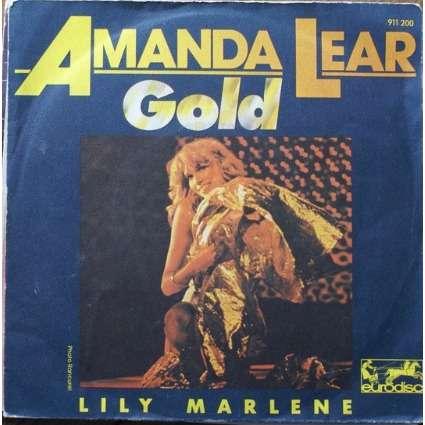 Amanda Lear Gold/ lily marlène