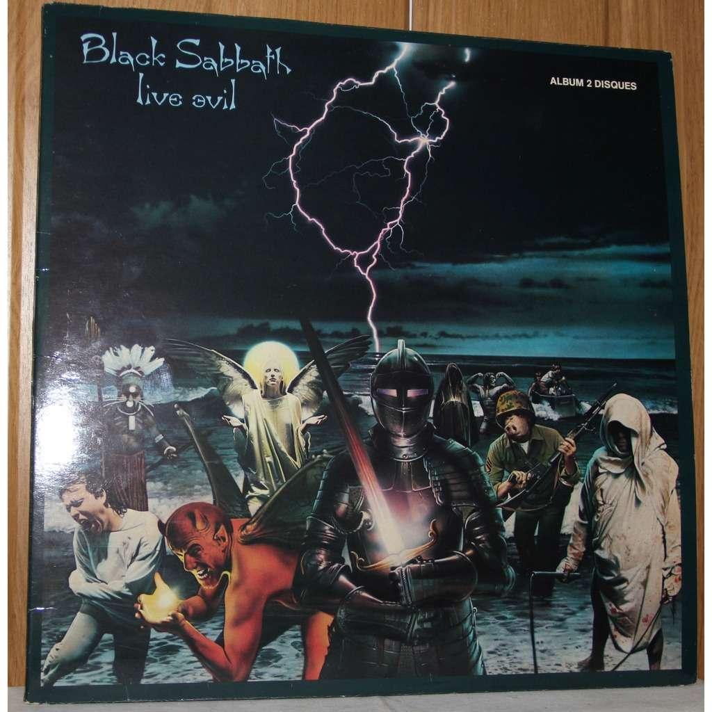 Live Evil By Black Sabbath Double Lp Gatefold With Dom93