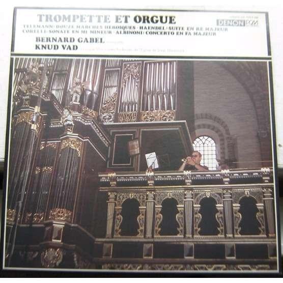 bernard gabel & knud vad trompette et orgue