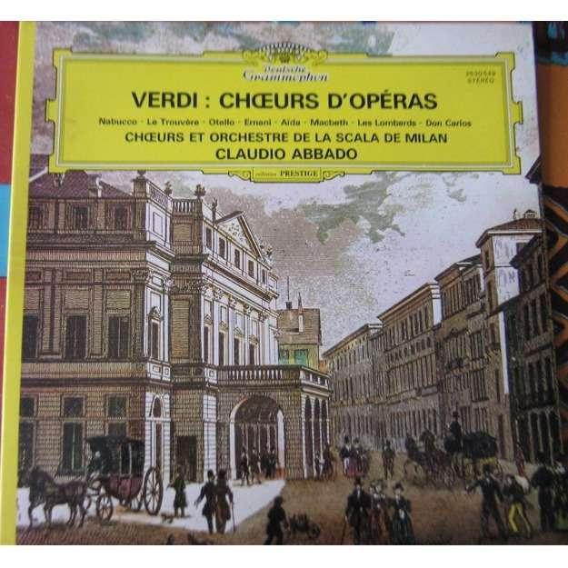 verdi choeurs d'operas