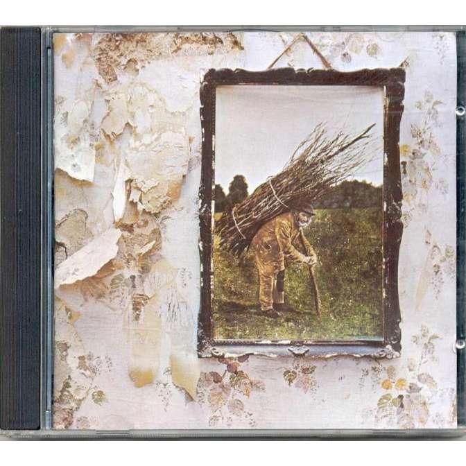 Led Zeppelin Iv German Warner Music Europe 8 Trk Cd