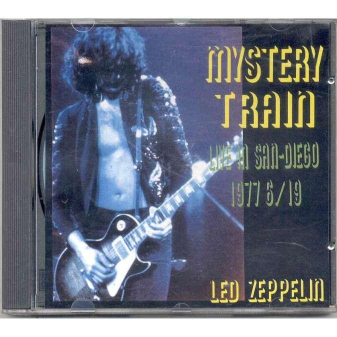 Mystery Train San Diego 06 19 1977 By Led Zeppelin Cd