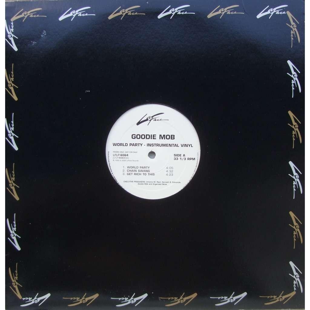 Goodie Mob World Party - Instrumental vinyl (2 LP)