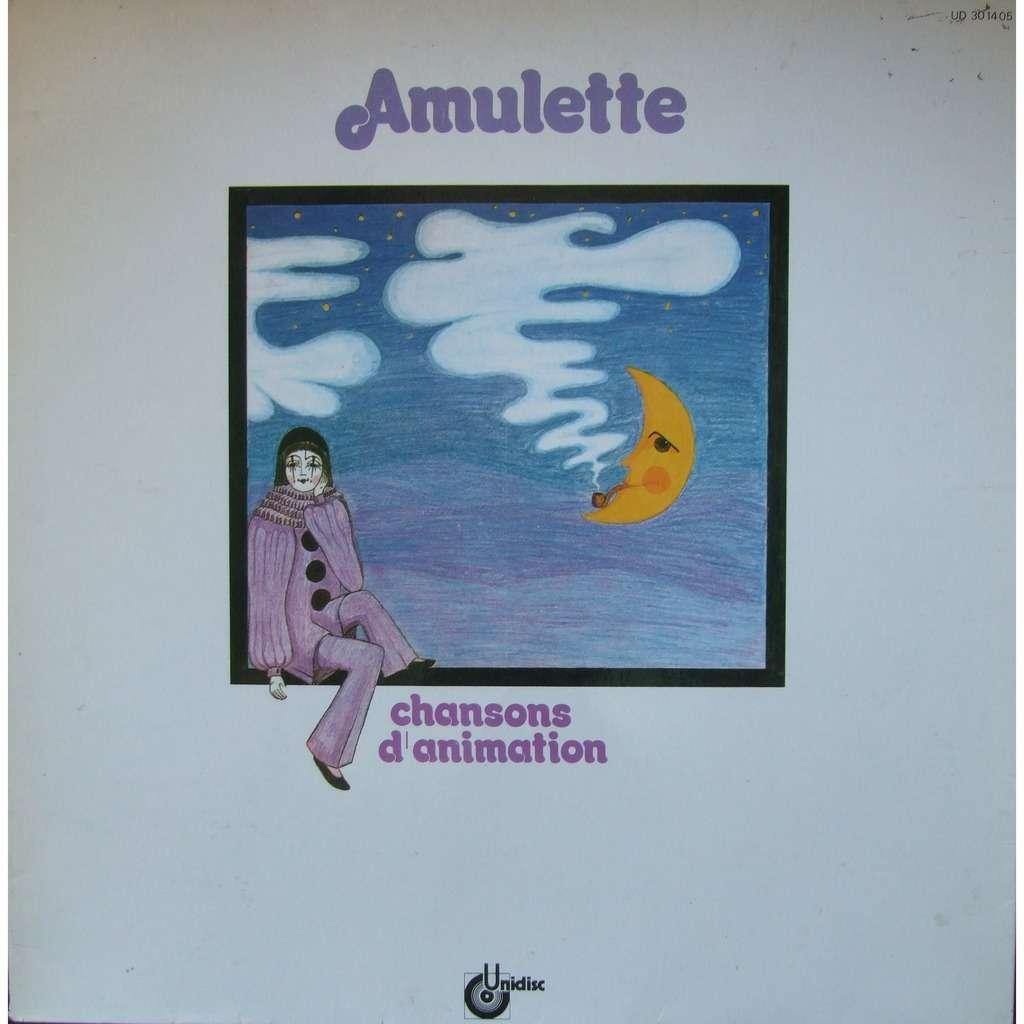 AMULETTE Chansons d'animation (French Folk Band - 1979 - Gatefold sleeve)