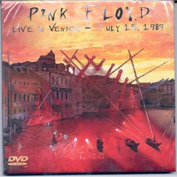 Pink Floyd Live in Venice - July 15 1989 (Russian 2006 Ltd 2CD & 1DVD set unique card gf ps)