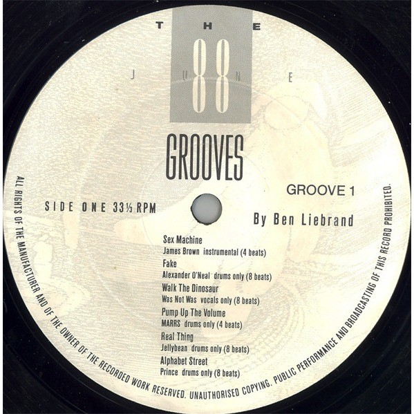 james brown AND 11 Various Artists The Grooves - June 88 [ Sex Machine (4 Beats - Instrumental) and 11 Tracks ]