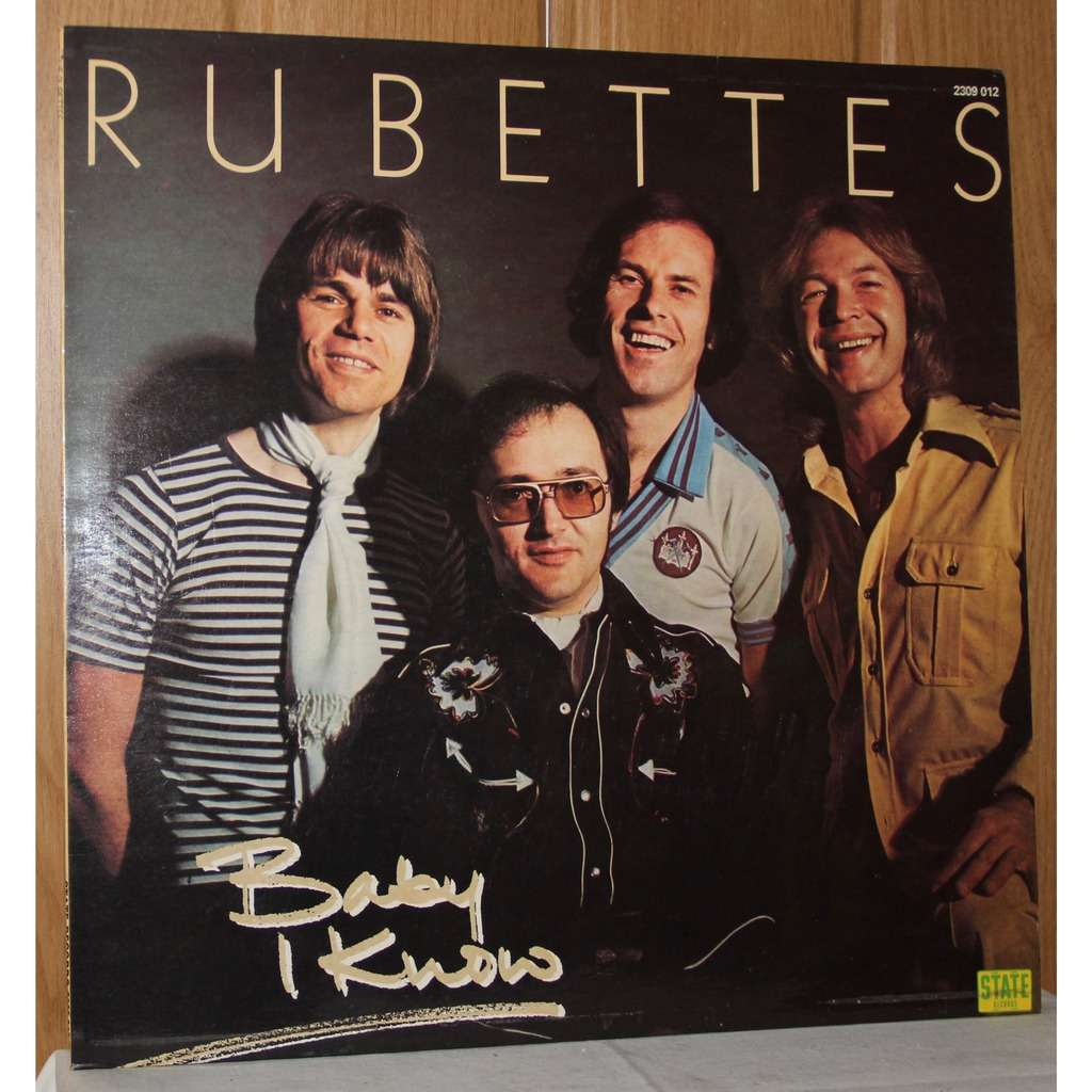 Baby I Know By Rubettes Lp With Dom93 Ref 118168195