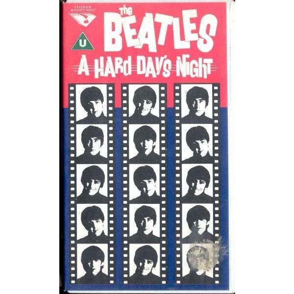 the beatles A Hard Day's Night (Holland original Video VHS great ps)