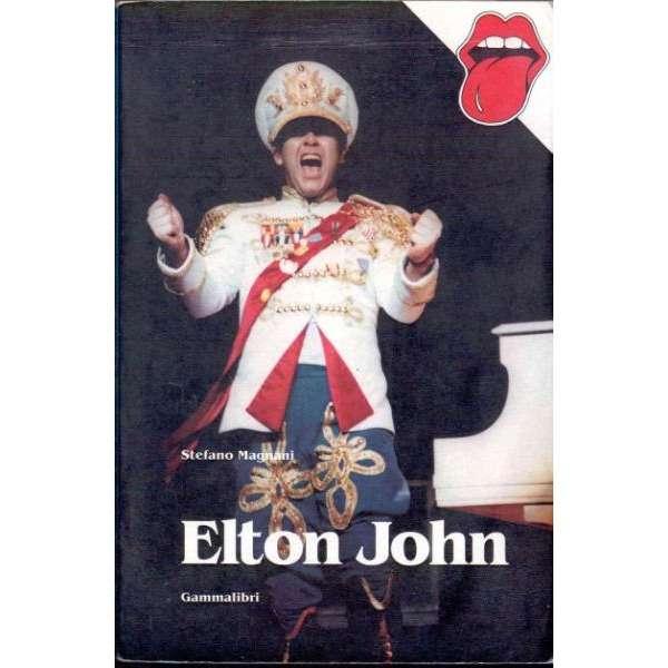 Elton John Elton John (Italian 1989 'Gammalibri' photos & history book)