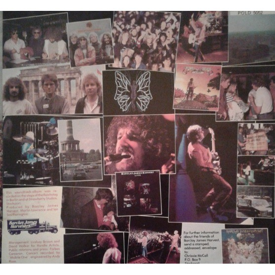 Barclay James Harvest A Concert For The People (Berlin)