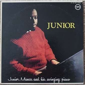 Junior Mance Trio junior mance and his swinging piano