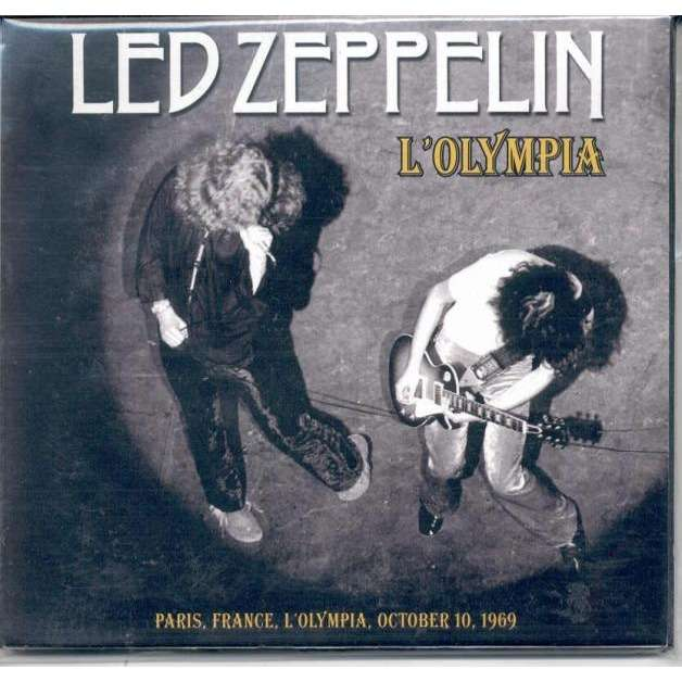 Led Zeppelin L'Olympia (Paris France 10 Oct  1969)