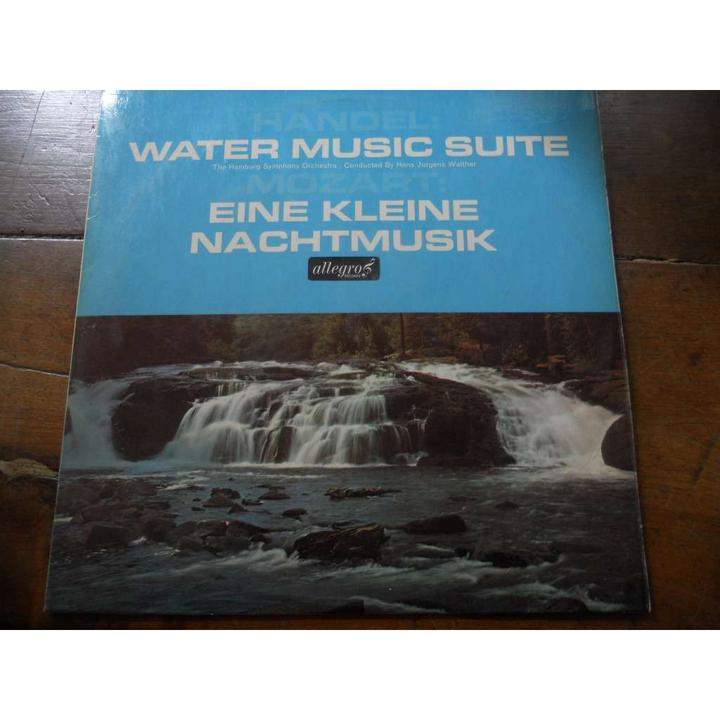 Water music suite handel by The Hamburg Symphony Orchestra / Hans J ...