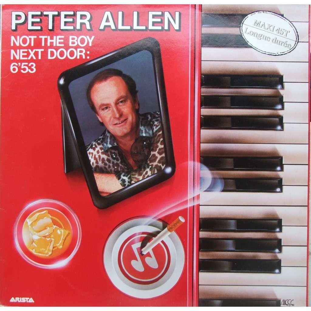 Not The Boy Next Door By Peter Allen, 12inch With Mabuse